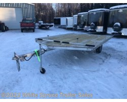 "#MFS12LV-16046 - 2018 Mission Trailers 8'6"" X 12' 3500#  ALL ALUMINUM SPLIT RAMP"