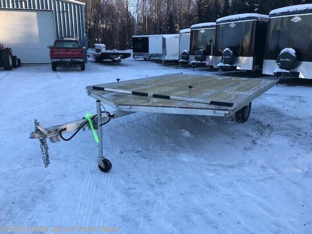 "2018 Mission Trailers 8'6"" X 12' 3500# ALL ALUMINUM SPLIT RAMPS"