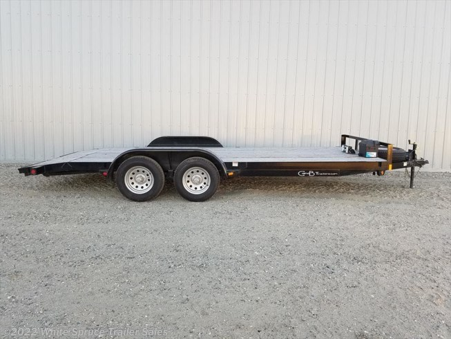 2018 C&B 18' Car Hauler with Dovetail 7K Trailer