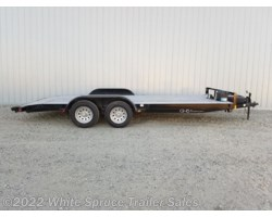 #COM18-52634 - 2018 C&B 18' Car Hauler with Dovetail 7K Trailer