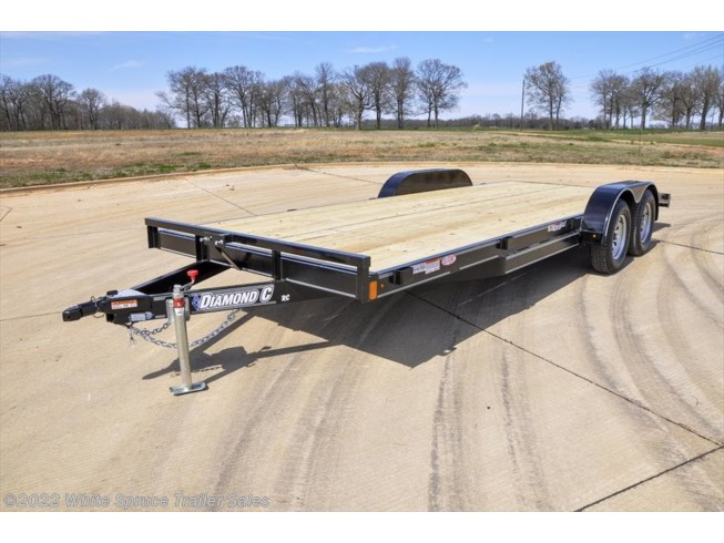 2018 Diamond C 18' Car Hauler, 7K with dovetail