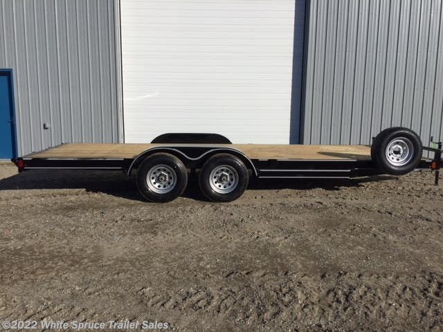 2018 Diamond C 20' CAR HAULER, 10K WITH SLIDE RAMPS
