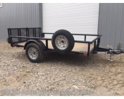 "#2PSAL10-77-97301 - 2018 Diamond C 6'5"" X 10' UTILITY SINGLE 3500# AXLE"