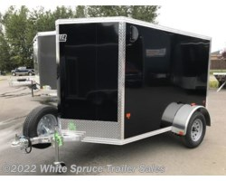 "#EZEC58-19188 - 2018 Mission Trailers 5' X 8' X 4'11"" ALL ALUMINUM 3K W/BARN"