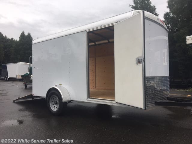2018 Mirage 6' X 12' SINGLE AXLE CARGO 3K REAR RAMP D