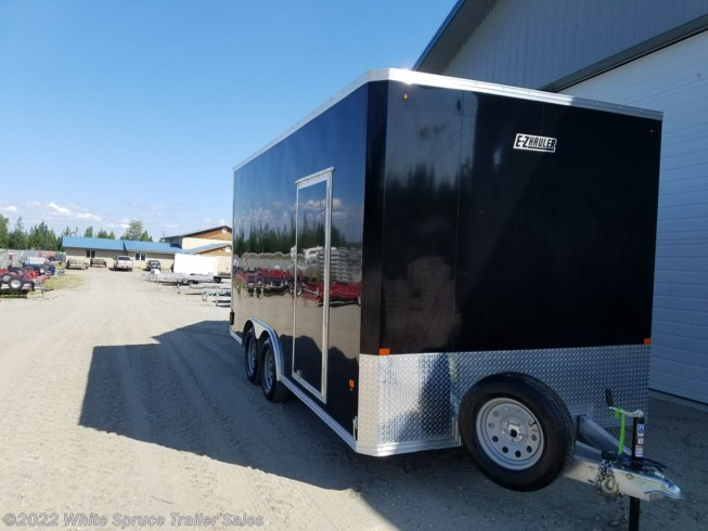"2019 Mission Trailers 8' X 16' X 7'4"" ALL ALUMINUM ENCLOSED 7K"