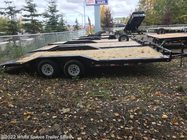 "2019 PJ Trailers 83"" X 18' EQUIPMENT 10K"