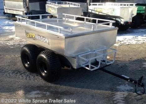 2019 Bosski 2000# GVWR Tandem Axle Trailer All Alum M