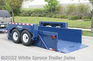 2018 Air-tow 14' DROP DECK TRAILER 12,000 LB CAPACITY