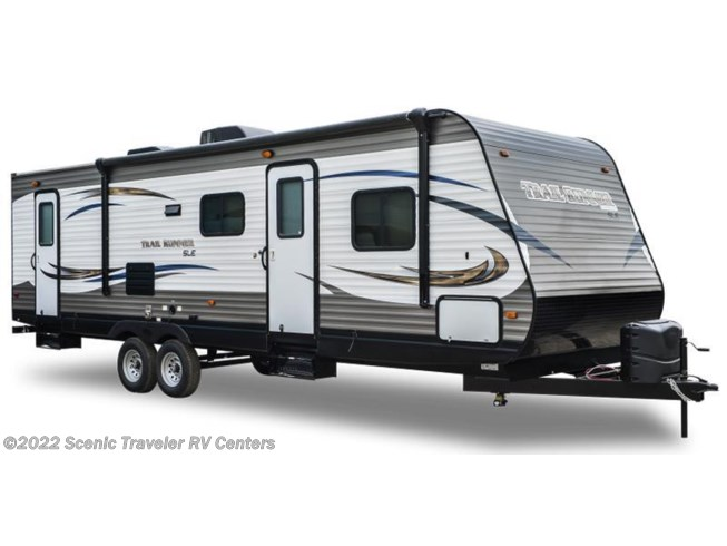 Stock Image for 2016 Heartland RV Trail Runner TR 27 RKS (options and colors may vary)