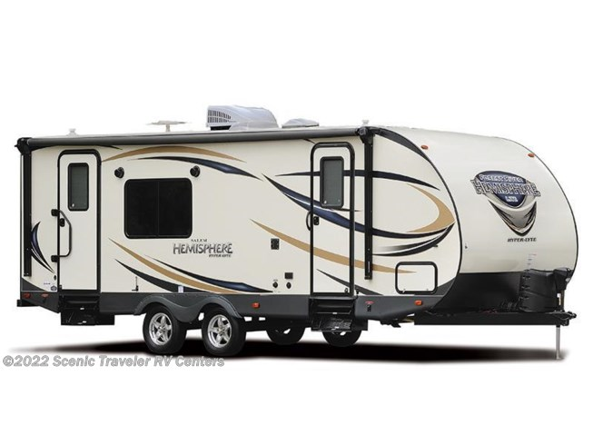 Stock Image for 2016 Forest River Salem Hemisphere Lite 24RK (options and colors may vary)