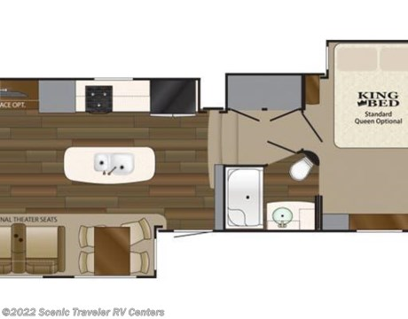 NF567 2018 Heartland RV Big Country BC 3560SS for sale in Slinger WI – Heartland Rv Floor Plans