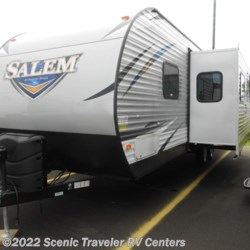 New 2018 Forest River Salem 27DBUD For Sale by Scenic Traveler RV Centers available in Slinger, Wisconsin