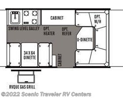 2014 Forest River Rockwood Freedom 2270 floorplan image