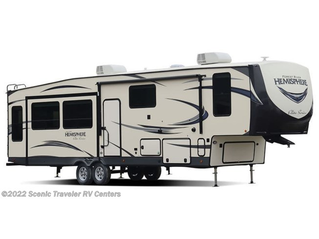 Stock Image for 2019 Forest River Salem Hemisphere Elite 34RL (options and colors may vary)