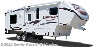 Stock Image for 2012 Prime Time Crusader 290RLT (options and colors may vary)