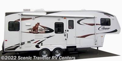 Stock Image for 2009 Keystone Cougar 276RLS (options and colors may vary)