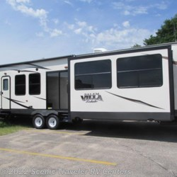 2017 Forest River Salem Villa Estate 385FLBH  - Destination Trailer New  in Baraboo WI For Sale by Scenic Traveler RV Centers call 877-744-6305 today for more info.