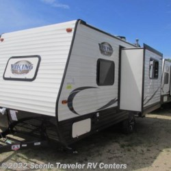 2018 Coachmen Viking 17FQS  - Travel Trailer New  in Baraboo WI For Sale by Scenic Traveler RV Centers call 877-744-6305 today for more info.