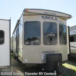 New 2017 Forest River Salem Villa 39FDEN CLASSIC For Sale by Scenic Traveler RV Centers available in Baraboo, Wisconsin