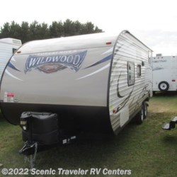 2017 Forest River Wildwood X-Lite 201BHXL  - Travel Trailer Used  in Baraboo WI For Sale by Scenic Traveler RV Centers call 877-898-7236 today for more info.