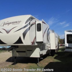 2015 Forest River Vengeance 39R12  - Toy Hauler Used  in Baraboo WI For Sale by Scenic Traveler RV Centers call 877-744-6305 today for more info.