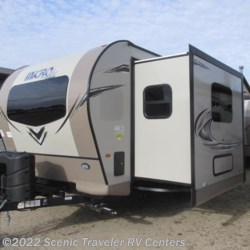 2018 Forest River Flagstaff Micro Lite 25FKS  - Travel Trailer New  in Baraboo WI For Sale by Scenic Traveler RV Centers call 877-898-7236 today for more info.