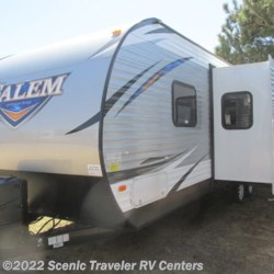 2018 Forest River Salem 27DBUD  - Travel Trailer New  in Baraboo WI For Sale by Scenic Traveler RV Centers call 877-744-6305 today for more info.