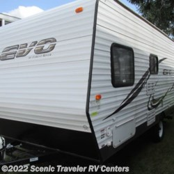 2015 Forest River Evo T185  - Travel Trailer Used  in Baraboo WI For Sale by Scenic Traveler RV Centers call 877-744-6305 today for more info.