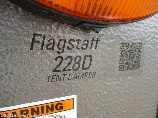 New 2021 Forest River Flagstaff 228D available in Slinger, Wisconsin