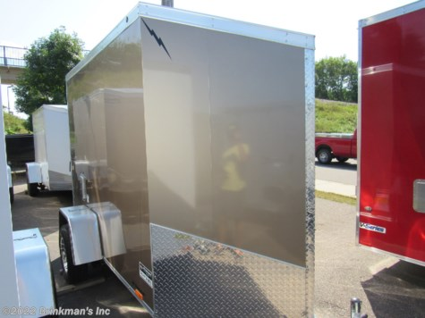 New 2019 Lightning Trailers 5x8 v nose For Sale by Brinkman's Inc available in Delano, Minnesota
