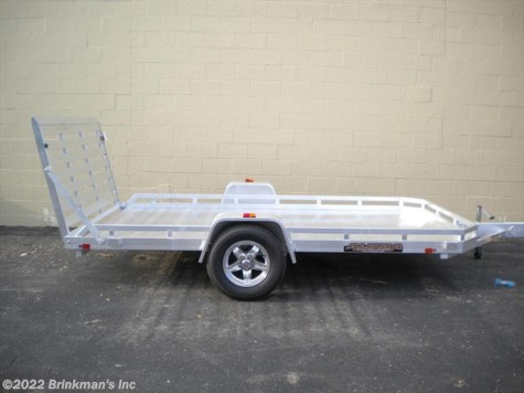 "New 2021 Aluma 7712H 77"" x 12' H  Rear ramp For Sale by Brinkman's Inc available in Delano, Minnesota"