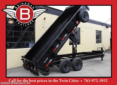 New 2020 Top Hat 83x16 Dump trailer For Sale by Brinkman's Inc available in Delano, Minnesota