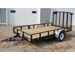 "#422 - 2019 PJ Trailers Utility 77"" Single Axle Channel Utility (U7) 12'"