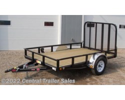 "#683 - 2019 PJ Trailers Utility 77"" Tandem Axle Channel Utility (UK) 10'"