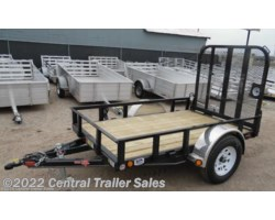 "#302 - 2019 PJ Trailers Utility 60"" Single Axle Channel Utility (U6) 8'"