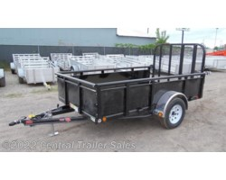 "#3419 - 2018 PJ Trailers 72"" Single Axle Channel Utility (U2) 10'"
