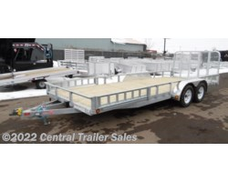 "#3655 - 2018 PJ Trailers 83"" Tandem Axle Channel Utility (UL) 20'"