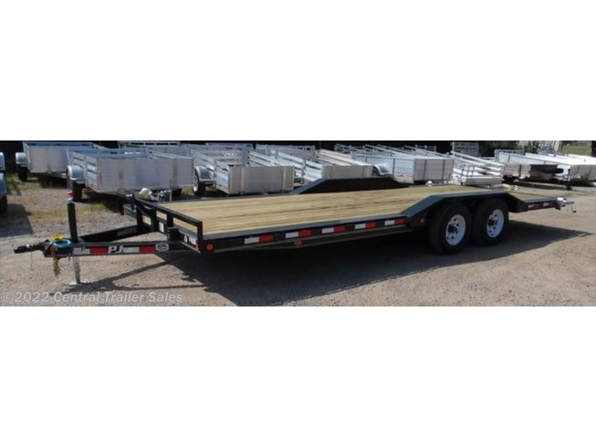 "2019 PJ Trailers Carhauler 5"" Channel Buggy Hauler (B5) 22'"