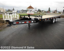 #Available To Order - 2018 PJ Trailers Flatdeck F820-14K Deckover