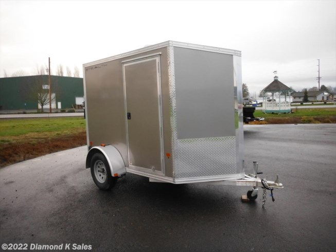2019 CargoPro Stealth 5' X 8' 3k Enclosed