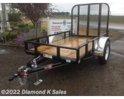 #Available To Order - 2018 PJ Trailers Utility U608-3k