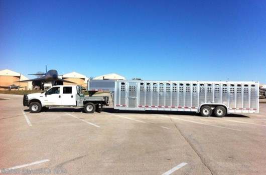 Livestock Trailer - 2019 EBY Ruff Neck available New in Halsey, OR