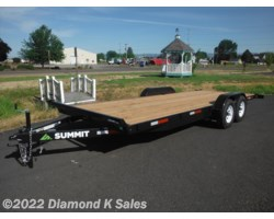 #1001359 - 2017 Summit Trailer Cascade 7' X 20' 10K Flatbed