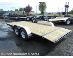 "#2556914 - 2017 PJ Trailers Carhauler 7' X 18' 7K 4"" Channel W/Dove"