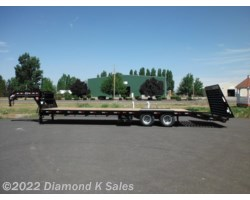 "#LDR32-25K - 2019 PJ Trailers Flatdeck 102"" X 32' 25K Power Tail"