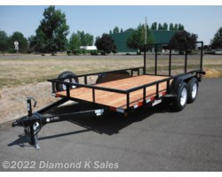 #LT246  - 2018 Five Star 7' X 14' 7K Utility W/Gate