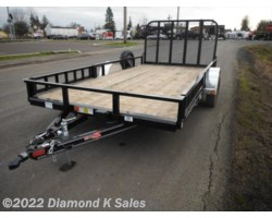 #Available To Order - 2018 PJ Trailers Utility U814-3k Utility