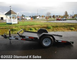 #1001547 - 2017 Summit Trailer Cascade 5' X 10' Steel Pan Tilt