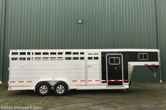 Livestock Trailer - 2018 EBY Stock Combo Stock Combo 22' X 6'11' X 7' MAVERICK STOCK COMBO available New in Halsey, OR